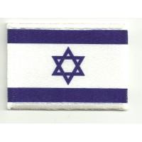 Parche bordado y textil ISRAEL 7CM x 5CM