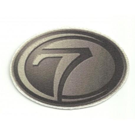 Textile patch 7 SEVEN 20cm x 13cm