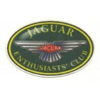 Parche textil JAGUAR CLUB 9cm x 5,5 cm