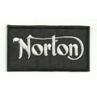 Parche bordado NORTON 4cm x 2,2cm