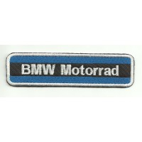 Parche bordado BMW MOTORRAD AZUL 5,5cm x 1,5cm