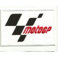 Parche bordado MOTO GP 4,5cm x 3cm