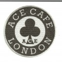 Textile patch AC CAFE 4cm