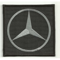 Patch embroidery LOGO MERCEDES BENZ 7,5cm x 7,5cm