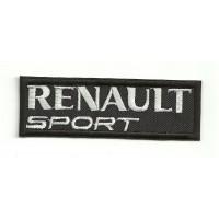 Parche bordado RENAULT SPORT NEGRO 4,5cm x 1,5cm