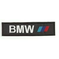 Parche bordado BMW BARRAS 5cm x 1,4cm