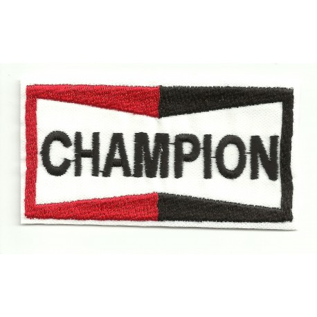 Patch embroidery CHAMPION 3,8cm x 2cm
