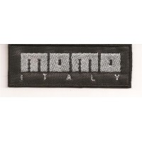 Parche bordado MOMO 4,5cm x 1,8cm