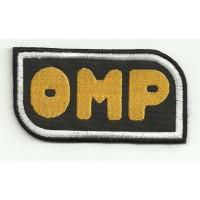 Parche bordado OMP 4,5cm x 2,5cm