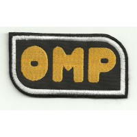 Patch embroidery OMP 4,5cm x 2,5cm