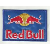 Parche bordado RED BULL 5cm x 3,5cm