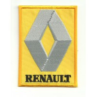 Patch embroidery RENAULT 3cm x 4,7cm