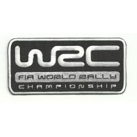 Patch embroidery WRC FIA WORLD RALLY 6cm x 3cm