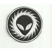 embroidery patch ALIEN 6,5cm x 6,5cm