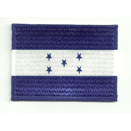 Patch flag HONDURAS 4cm x 3cm