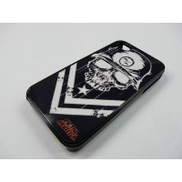IPHONE 4 Y 4S METAL MULISHA NEGRO