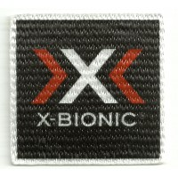 Parche textil X BIONIC 5,5cm x 5,5cm