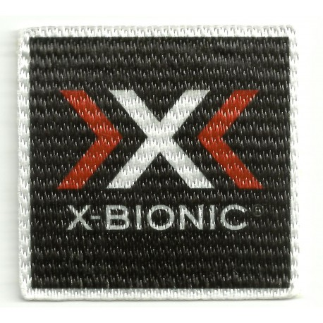 Textile patch X BIONIC 5,5cm x 5,5cm