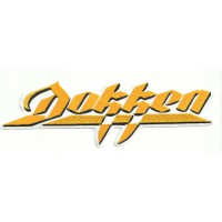 embroidery patch DOKKEN 20,5cm x 6,5cm