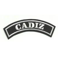 Embroidered Patch CADIZ 11cm x 4cm