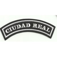 Embroidered Patch CIUDAD REAL 11cm x 4cm