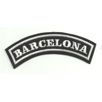Embroidered Patch BARCELONA 11cm x 4cm