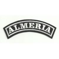 Embroidered Patch ALMERIA 11cm x 4cm