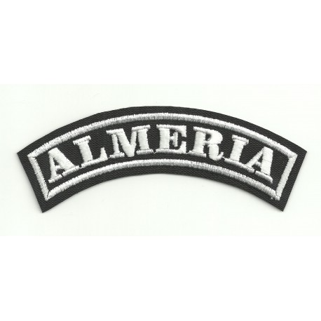 Embroidered Patch ALMERIA 15cm x 5,5cm