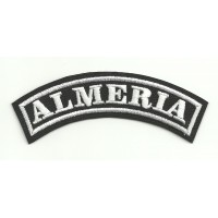 Embroidered Patch ALMERIA 25cm x 7cm