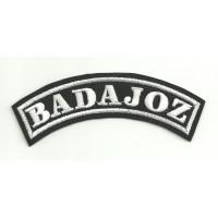 Embroidered Patch BADAJOZ 11cm x 4cm