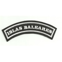 Embroidered Patch BALEARES 11cm x 4cm