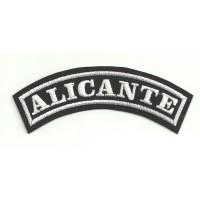 Embroidered Patch ALICANTE 11cm x 4cm