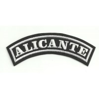 Embroidered Patch ALICANTE 15cm x 5.5cm