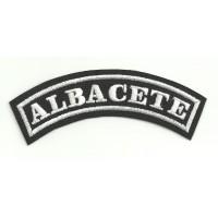 Embroidered Patch ALBACETE 15cm x 5.5cm