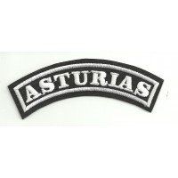 Embroidered Patch ASTURIAS 15cm x 5,5cm