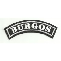 Embroidered Patch BURGOS 11cm x 4cm