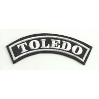Embroidered Patch TOLEDO 11cm x 4cm