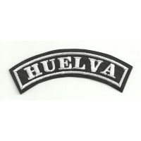Embroidered Patch HUELVA 11cm x 4cm
