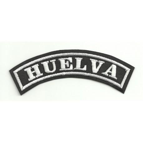 Embroidered Patch HUELVA 11cm x 4cm