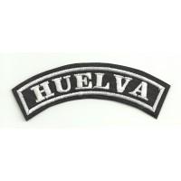 Parche bordado HUELVA 15cm x 5,5cm