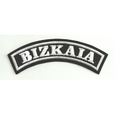 Embroidered Patch BIZKAIA 11cm x 4cm