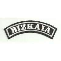 Embroidered Patch BIZKAIA 15cm x 5cm