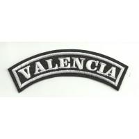 Parche bordado VALENCIA 15cm x 5,5cm