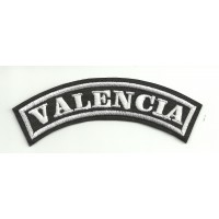Embroidered Patch VALENCIA 11cm x 4cm