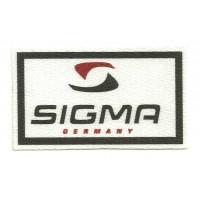 Textile patch SIGMA 8cm x 5cm