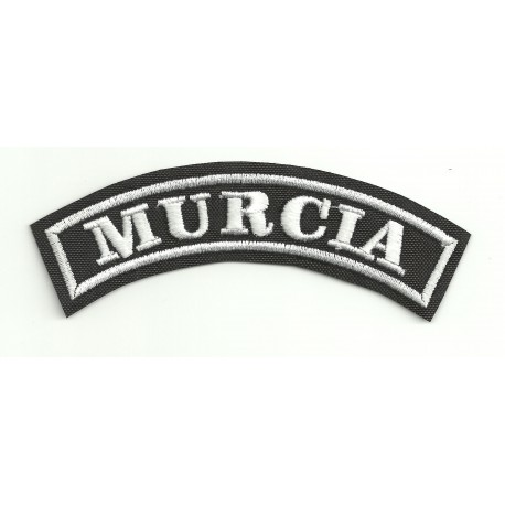 Embroidered Patch MURCIA 15cm x 5,5cm