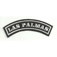 Embroidered Patch LAS PALMAS 11cm x 4cm