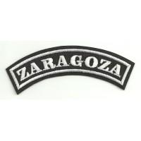 Embroidered Patch ZARAGOZA 11cm x 4cm