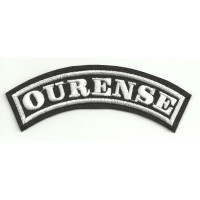 Embroidered Patch OURENSE 11cm x 4cm