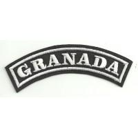 Embroidered Patch GRANADA 11cm x 4cm